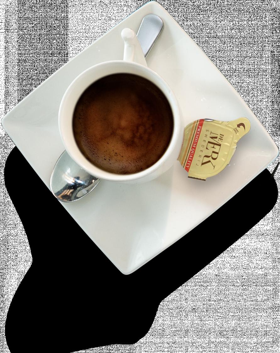 Met wie wil u uw koffie drinken?